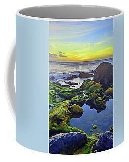 Coffee Mug featuring the photograph The Golden Skies Of Molokai by Tara Turner