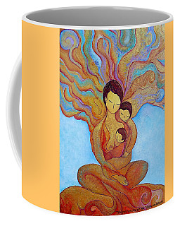 The Golden Tree Of Life Coffee Mug
