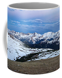 The Gore Range At Sunrise - Rocky Mountain National Park Coffee Mug