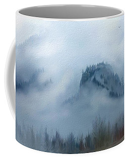 The Gorge In The Fog Coffee Mug