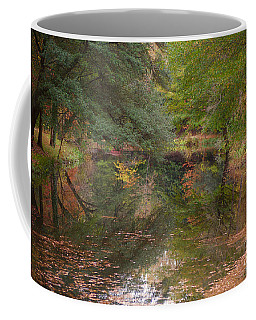 The Governor's Palace Canal In Autumn Coffee Mug