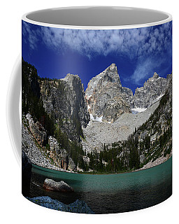 The Grand And Mount Owen From Delta Lake Coffee Mug