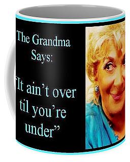 The Grandma Over And Under Coffee Mug