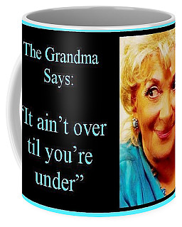 The Grandma Over And Under Coffee Mug