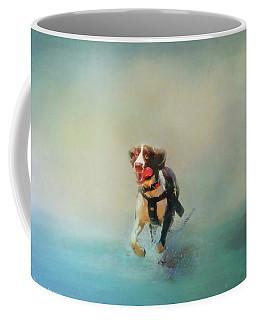 Coffee Mug featuring the photograph The Great Escape by Wallaroo Images