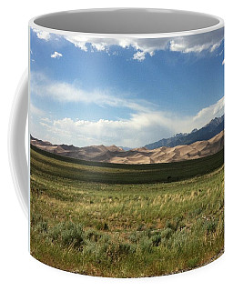 Coffee Mug featuring the photograph The Great Sand Dunes by Christin Brodie