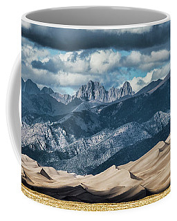 The Great Sand Dunes Panorama Coffee Mug