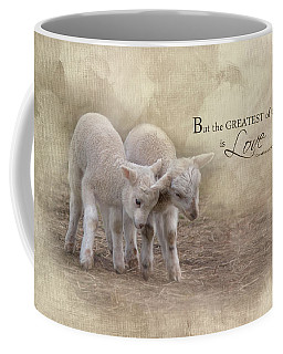 Coffee Mug featuring the photograph The Greatest Is Love by Robin-Lee Vieira