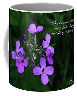 Coffee Mug featuring the photograph The Greatest Is Love by Tikvah's Hope