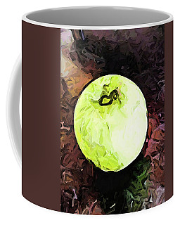 The Green Apple In The Bright Light Coffee Mug