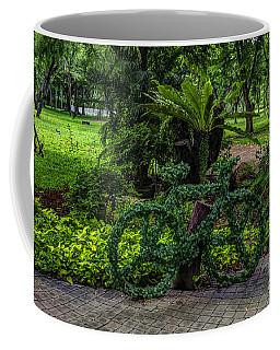 The Green Bicycle Coffee Mug