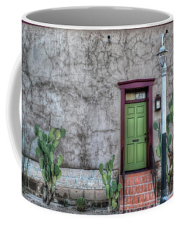The Green Door Coffee Mug