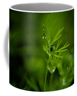 The Green Drop Coffee Mug
