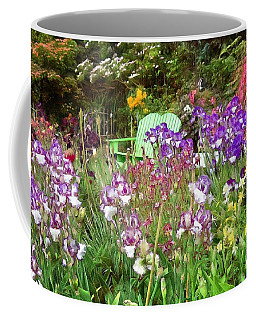 Coffee Mug featuring the photograph Hiding In The Garden by Thom Zehrfeld