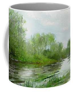 The Green Magic Of Ordinary Days Coffee Mug