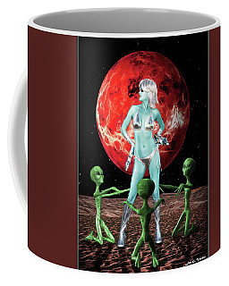 The Green Queen Is Blue Coffee Mug