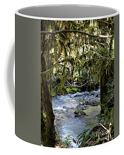 The Green Seen Coffee Mug by Marie Neder