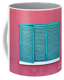The Green Shutter  Coffee Mug