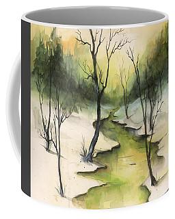 The Greenwood Coffee Mug by Terry Webb Harshman