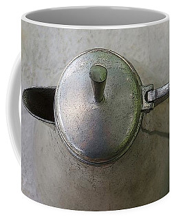 The Grey On Grey Coffee Mug by Yvonne Wright