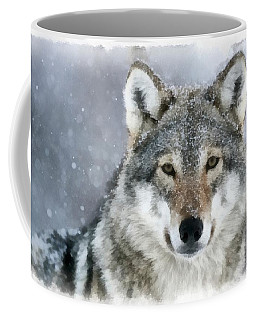 The Grey Wolf Coffee Mug