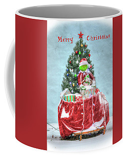 The Grinch Stole Christmas Card Coffee Mug