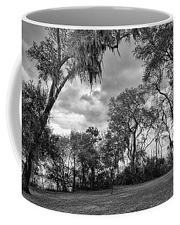The Grounds Of Fort Caroline National Memorial Coffee Mug by John M Bailey