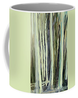 Coffee Mug featuring the painting The Grove by Andrew King