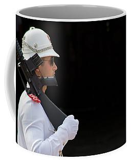 The Guard Coffee Mug by Keith Armstrong