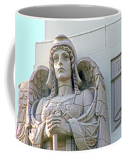 The Guardian Angel On Watch Coffee Mug