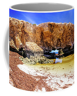 The Guardian, Two Rocks Coffee Mug by Dave Catley