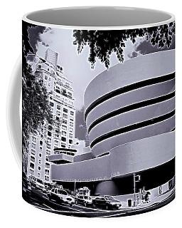 The Guggenheim Black And White Coffee Mug