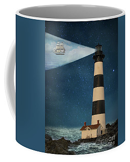 Coffee Mug featuring the photograph The Guiding Light by Juli Scalzi