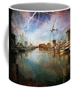 The Gulfport Egret Coffee Mug
