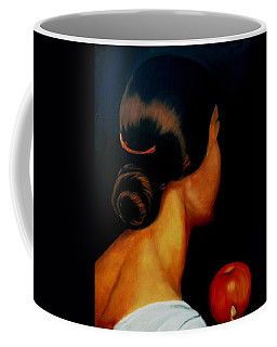 The Hair   Coffee Mug by Manuel Sanchez
