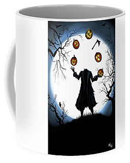 The Halloween Hessian Coffee Mug