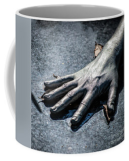 The Hand Squared Coffee Mug by Kathleen K Parker