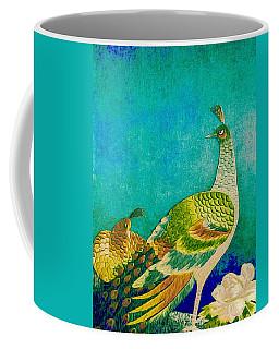 The Handsome Peacock - Kimono Series Coffee Mug