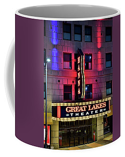 Coffee Mug featuring the photograph The Hanna Great Lakes Theater by Frozen in Time Fine Art Photography