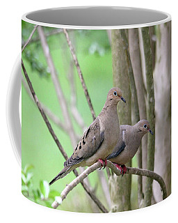 Coffee Mug featuring the photograph The Happy Couple by Trina Ansel