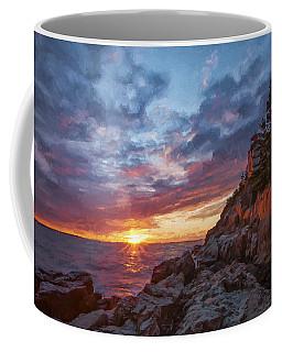 The Harbor Dusk  Iv Coffee Mug