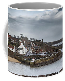 The Harbour Of Crail Coffee Mug