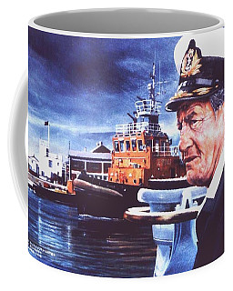 The Harbourmaster Coffee Mug by Tim Johnson