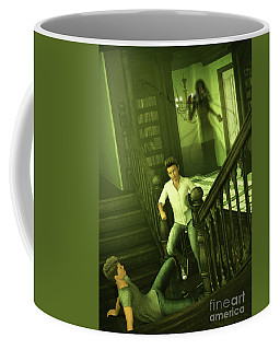 The Haunted Manor Coffee Mug