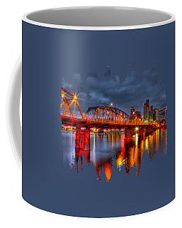 Coffee Mug featuring the photograph The Hawthorne Bridge - Pdx by Thom Zehrfeld