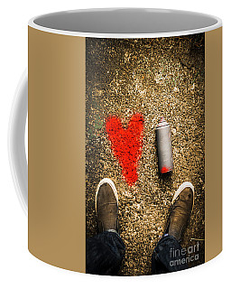 The Heart Of A Vandal Coffee Mug