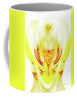 The Heart Of An Alien-orchid Coffee Mug