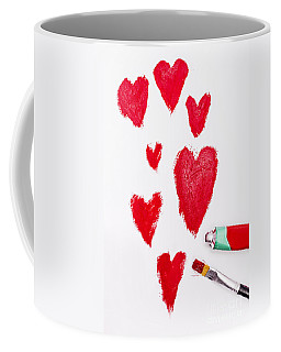 The Heart Of Love Coffee Mug