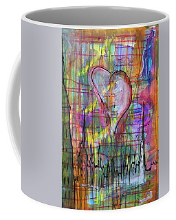 The Heart Of The City Coffee Mug