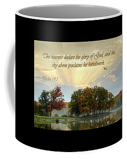 The Heavenly Morning Card Coffee Mug